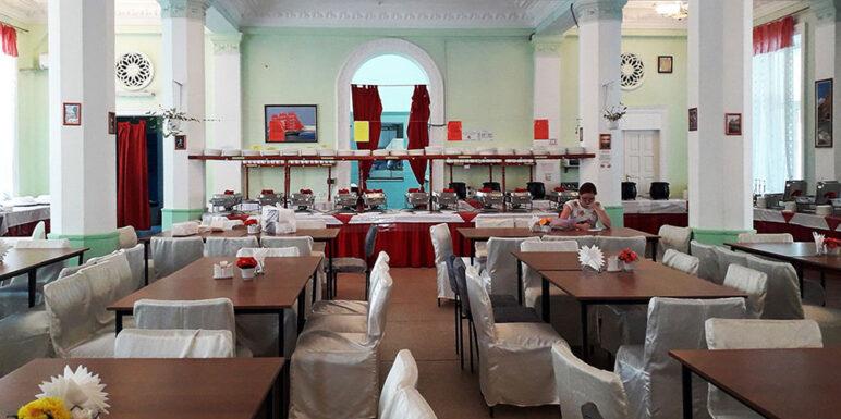 ресторан столовая крымское приморье