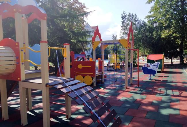 детская площадка крымское приморье