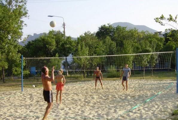 пляжный волейбол крымское приморье